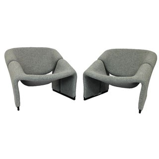 "Artifort Pierre Paulin ""Groovy"" Chairs - a Pair"