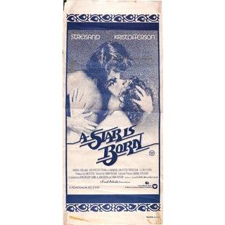 """A Star is Born"" Original 1976 Movie Poster Daybill"
