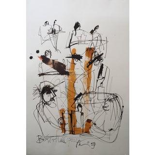 Mark Müller Figurative Drawing Sketch #2