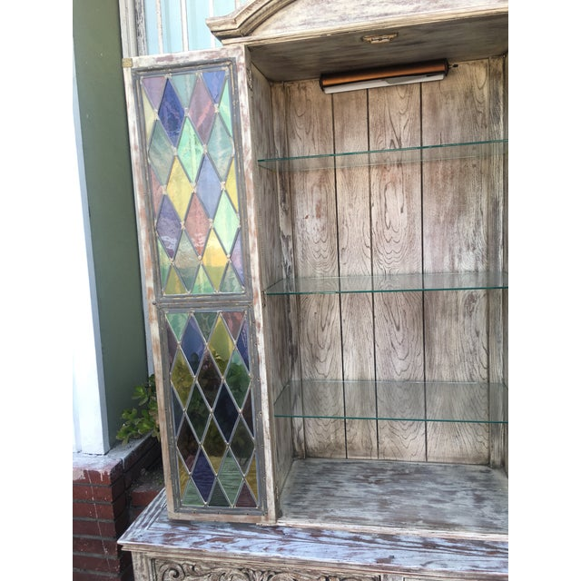 French Style Distressed Cabinet - Image 10 of 11