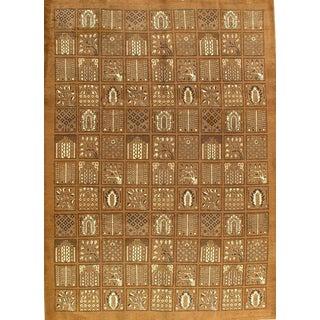 Pasargad NY Persian Khodrang Tabriz Garden Design Lamb's Wool Rug - 8' x 11'