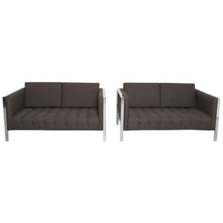 Founders Settees - A Pair