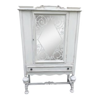 Shabby Chic Jacobean China Cabinet