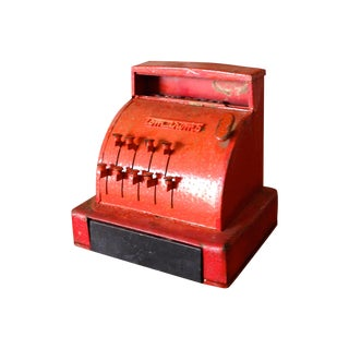 Vintage Toy Cash Register