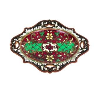 Multicolor Cloisonné Tray