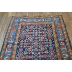 Image of Antique Persian Hand Woven Runner- 3′10″ × 9′7″