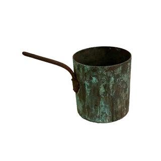 Provence Verdigris Copper Pot