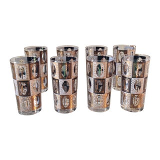 Georges Briard Highball Glasses - Set of 8