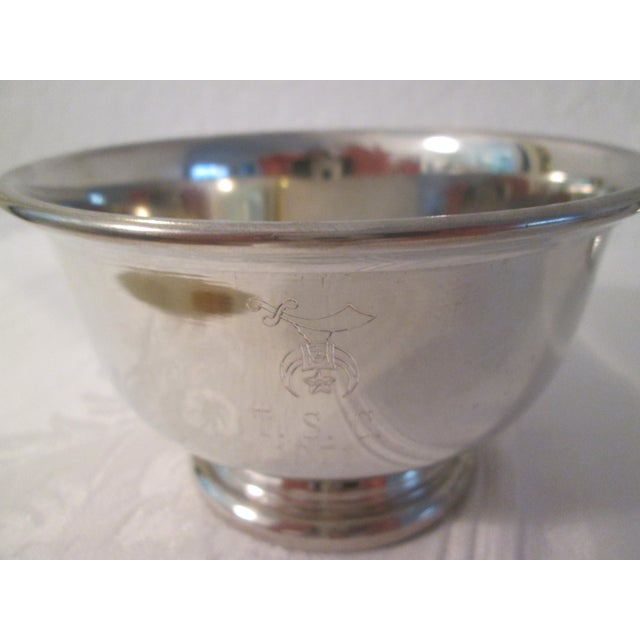 Image of Pewter Engraved Bowls - Set of 3