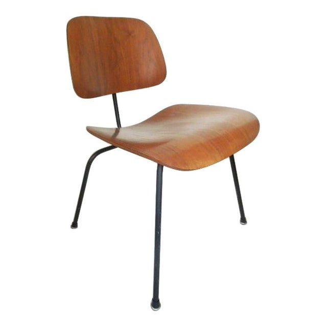 vintage charles eames dcm original plywood chair chairish. Black Bedroom Furniture Sets. Home Design Ideas