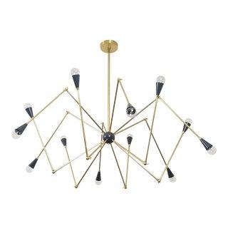 Blueprint Lighting Sculptural Model 720 Chandelier