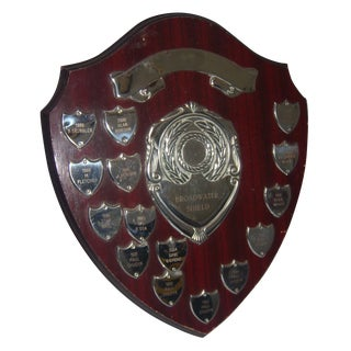 English Sports Trophy Plaque, Broadwater Sheild