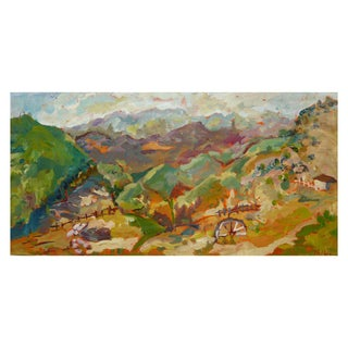 """Malibu Ranch"" Original Oil Painting"