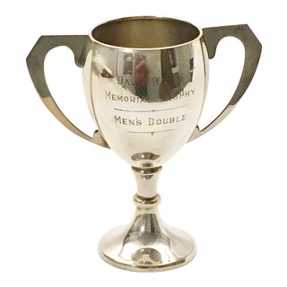 English Silverplate Tennis Trophy