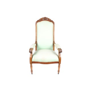 19th C French Voltaire Armchair