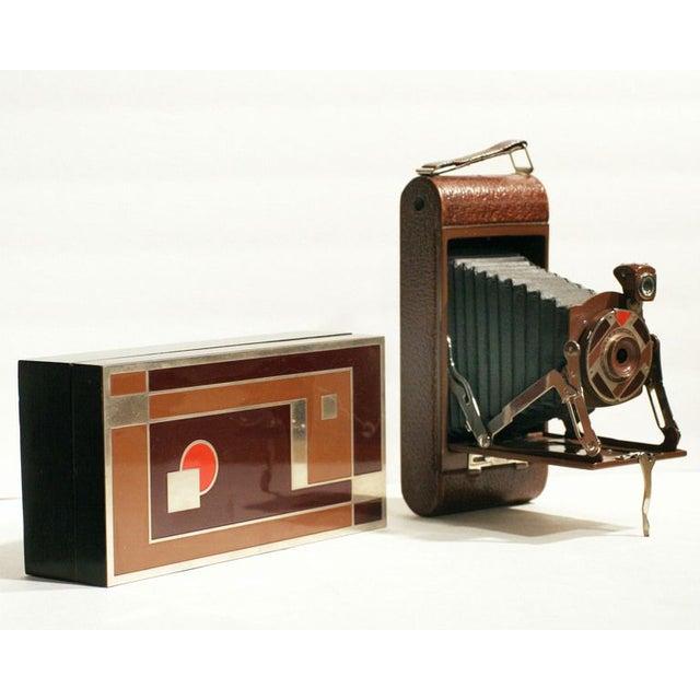 "Rare Walter Dorwin Teague Kodak ""1A Gift"" Camera - Image 2 of 5"
