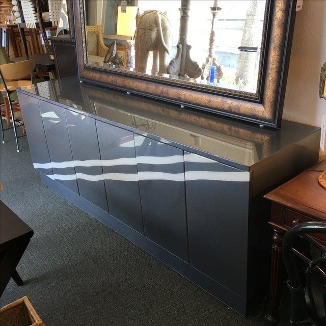 Modern Metallic Lacquer Sideboard - Image 3 of 10