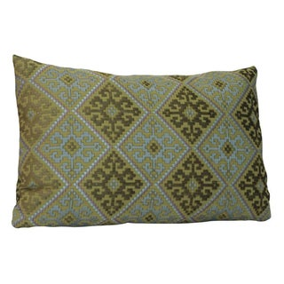 Green Pierre Frey Kidney Pillow