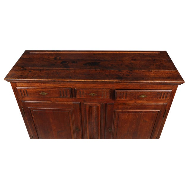 19th C. French Louis XV-Style Buffet - Image 4 of 8