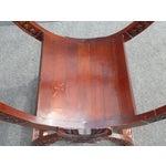 Image of Vintage Asian Style Savonarola Chair