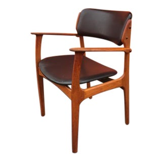 Vintage Erik Buck O. D. Mobler Danish Dining Chair