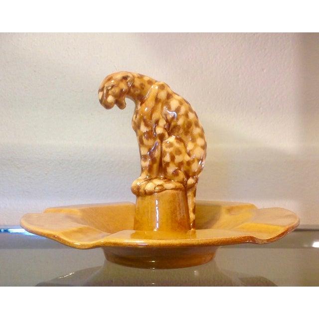Image of Mid Century Leopard Dish