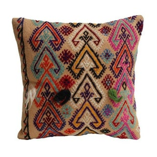 Multi Colored Kilim Pillow