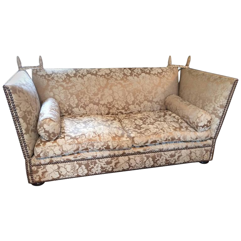 George Smith Knoll Style Sofa   Image 1 Of 8