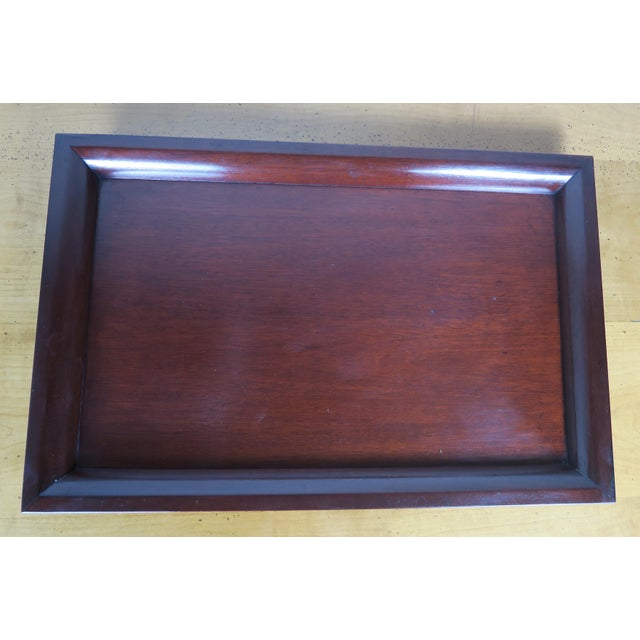 English Mahogany Tray - Image 5 of 7