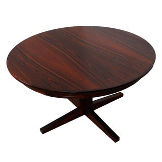 Danish Rosewood Lotus 'Flip Flap' Dining Table