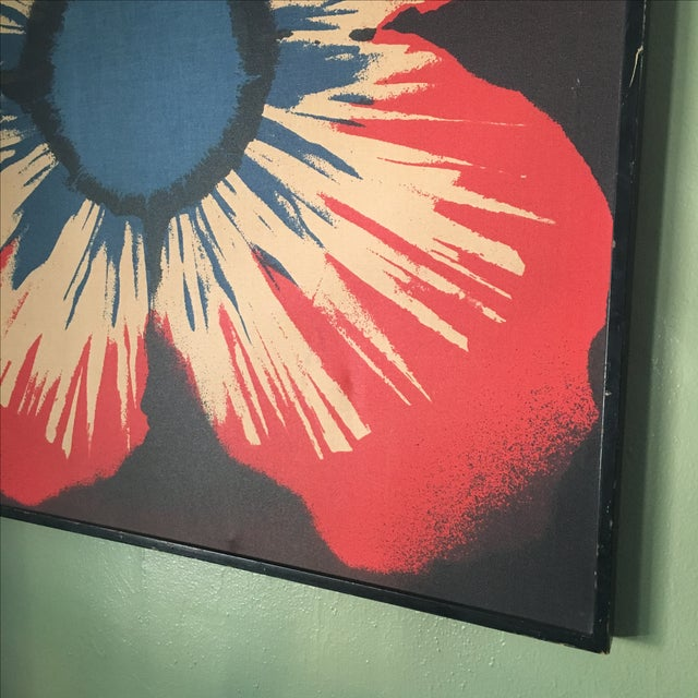 Original Tom Tru Vintage Poppy Sreen Print - Image 6 of 9