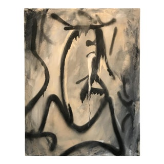 Marcus Sisler Introspection #4 Mixed Media Painting