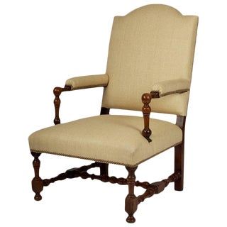 17th Century Louis XIII Restored Armchair