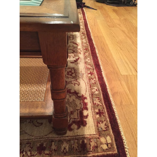Wood & Glass Side Tables - A Pair - Image 6 of 6