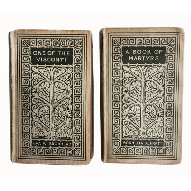 Vintage Decorative Books - Pair - Image 2 of 3