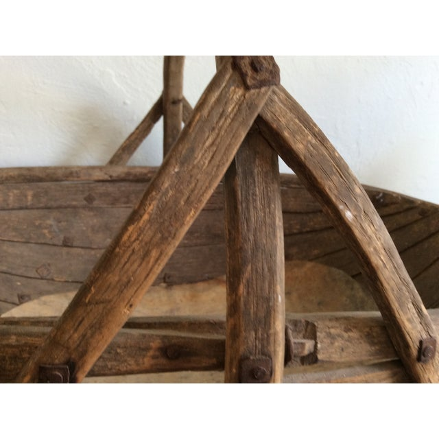 Image of Rustic Antique Basket