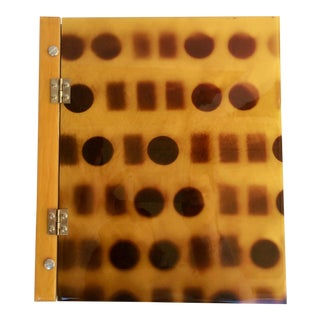 Abstract Wood and Resin Photo Album