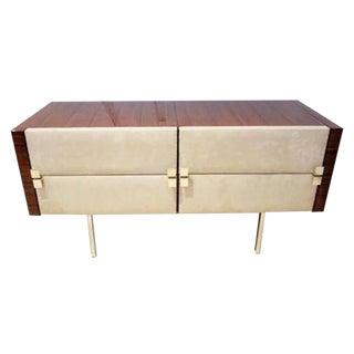 Modernist Dresser/Vanity in Rosewood by Roger Landault