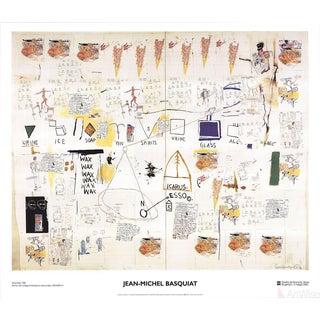 Jean Michel Basquiat, Icarus Esso, 2002 Poster