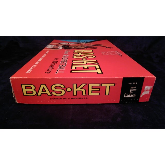 1966 Cadaco Bas-Ket Basketball Board Game - Image 6 of 11