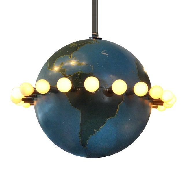 Ted Harris Vintage Globe Chandelier - Image 1 of 5