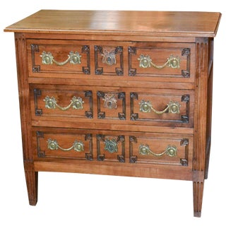 Early 19th Century French Louis XVI Walnut Chest