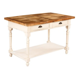 1920s French Painted Working Table