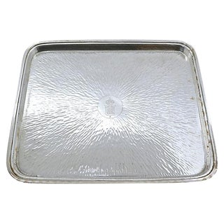Antique French Hotel Bar Tray