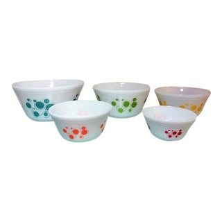 Atomic Dots Mixing Bowls - Set of 5