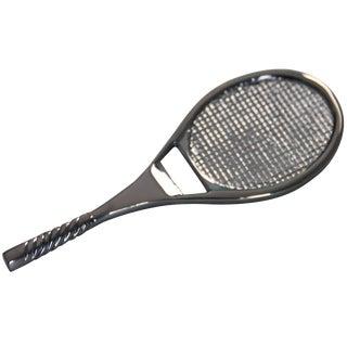 Chrome Tennis Racket Bottle Opener