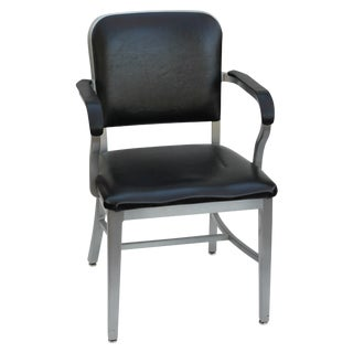 Industrial Aluminum Arm Chair