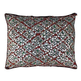 Moroccan Berber Sequined Pillow Cover