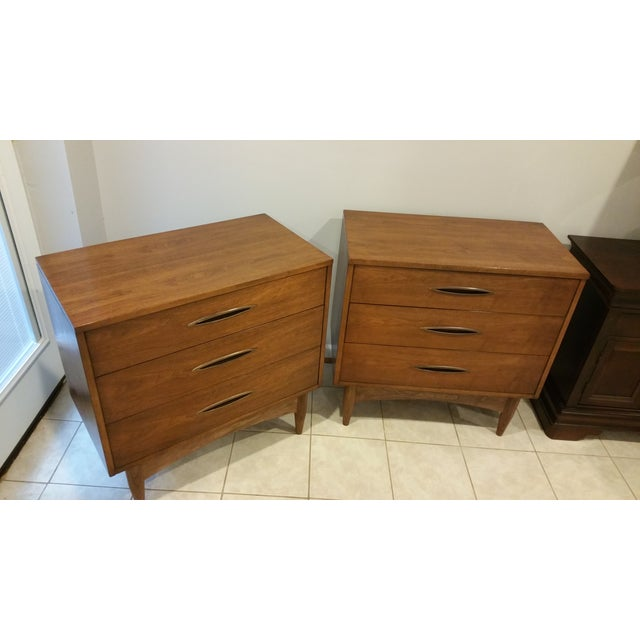 Broyhill Emphasis Lowboy Chests - A Pair - Image 3 of 5