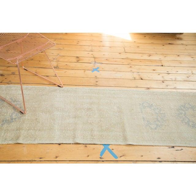 "Vintage Oushak Runner Rug - 2'2"" x 10'3"" - Image 6 of 7"